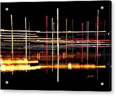 Cosmic Avenues Acrylic Print