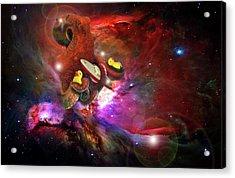Cosmic Bath Time Acrylic Print