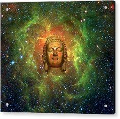 Cosmic Buddha Acrylic Print by Jody Brusca