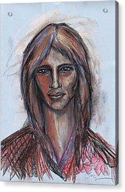 Cosmic Christ Acrylic Print