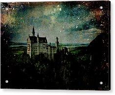 Cosmic Collision Acrylic Print by Sarah Vernon