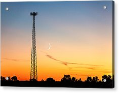 Cosmic Communications Acrylic Print by Todd Klassy