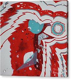 Cosmic Corvid Acrylic Print