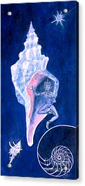 Cosmic Dancer Acrylic Print by Doris Blessington