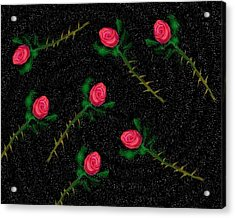 Cosmic Debris Acrylic Print by John Mueller