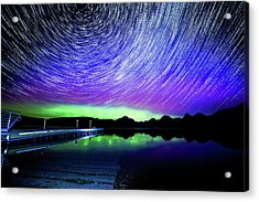 Cosmic-donald Solar Storm Acrylic Print by Bryan Moore