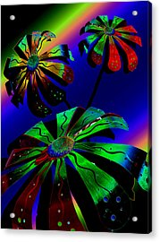 Cosmic Dreams Acrylic Print by Tony Marquez