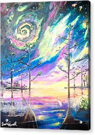 Cosmic Florida Acrylic Print by Dawn Harrell
