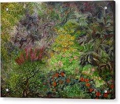 Cosmic Garden Acrylic Print