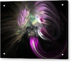 Cosmic Intervention Acrylic Print by Wayne Bonney