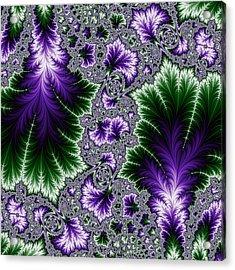 Cosmic Leaves Acrylic Print