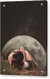 Cosmic Love Acrylic Print