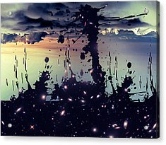 Acrylic Print featuring the photograph Cosmic Resoance No 3 by Robert G Kernodle