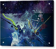 Acrylic Print featuring the photograph Cosmic Resonance No 1 by Robert G Kernodle