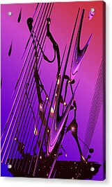 Acrylic Print featuring the photograph Cosmic Resonance No 6 by Robert G Kernodle