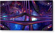 Acrylic Print featuring the photograph Cosmic Resonance No 7 by Robert G Kernodle
