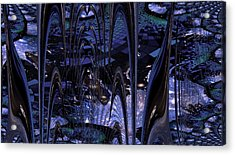 Acrylic Print featuring the photograph Cosmic Resonance No 8 by Robert G Kernodle