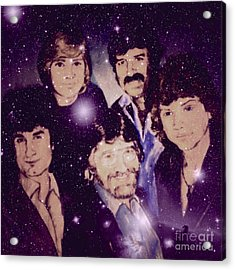 Cosmic Rockers Acrylic Print
