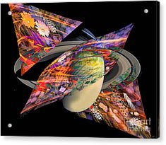 Cosmic Sensation Acrylic Print