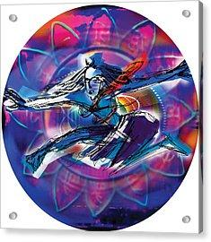 Cosmic Shiva Speed Acrylic Print