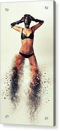 Cosmic Acrylic Print by Nichola Denny