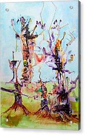Cosmic Tree Family Acrylic Print