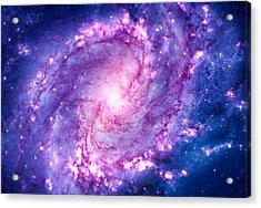 Cosmic Vacuum Cleaner Spiral Galaxy M83 Acrylic Print