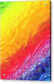 Cosmic Waves - Da Acrylic Print