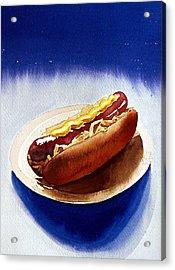 Cosmic Weenie Acrylic Print by Eunice Olson