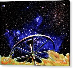 Acrylic Print featuring the photograph Cosmic Wheel by Jim and Emily Bush