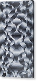 Cosmological Quantum Field Acrylic Print by George Sanen