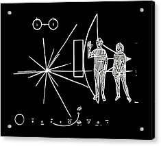 Cosmos Greetings  Acrylic Print