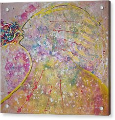 Cosmos Song Acrylic Print by Ruth Beckel
