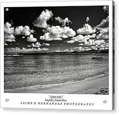 Costa Azul Acrylic Print by Jaime Hernandez