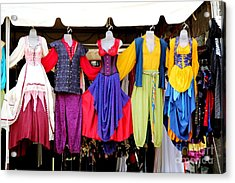 Costume Colors Acrylic Print