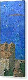 Cote D Azur I Acrylic Print by Steve Mitchell