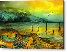Cote D Or Acrylic Print by Anne Weirich
