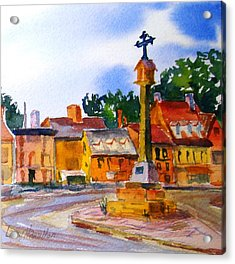 Cotswolds Town Center Acrylic Print