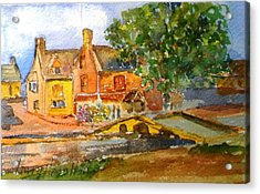 Cotswolds Town Study Acrylic Print