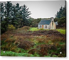 Cottage In The Irish Countryside Acrylic Print