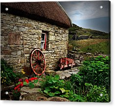 Cottage On The Moor Acrylic Print