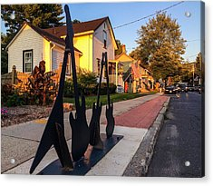 Cottage Street Guitars Acrylic Print
