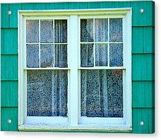 Cottage Windows Acrylic Print by Mg Blackstock