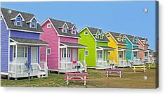 ''cottages'' Acrylic Print