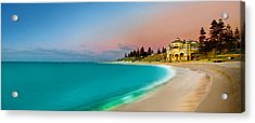 Cottesloe Beach Sunset Acrylic Print