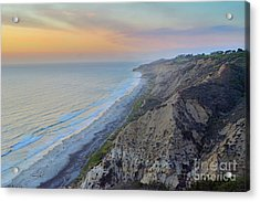 Cotton Candy Cliffs Acrylic Print