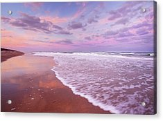 Cotton Candy Sunset. Acrylic Print