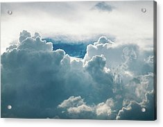 Cotton Clouds Acrylic Print by Marc Wieland