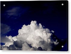 Cotton Sky Acrylic Print by Kathy Daxon