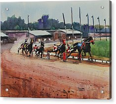 Cotton Wins Acrylic Print by Spencer Meagher
